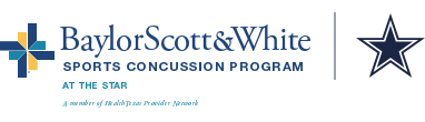 Baylor Scott & White Health Sports Concussion Program Logo