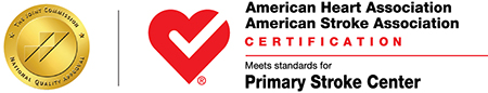 Logo for Joint Commissions Advanced Certification for Primary Stroke Centers