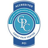 Logo for Certified Chest Pain Center