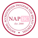 National Accreditation Program for Breast Centers (NAPBC) logo