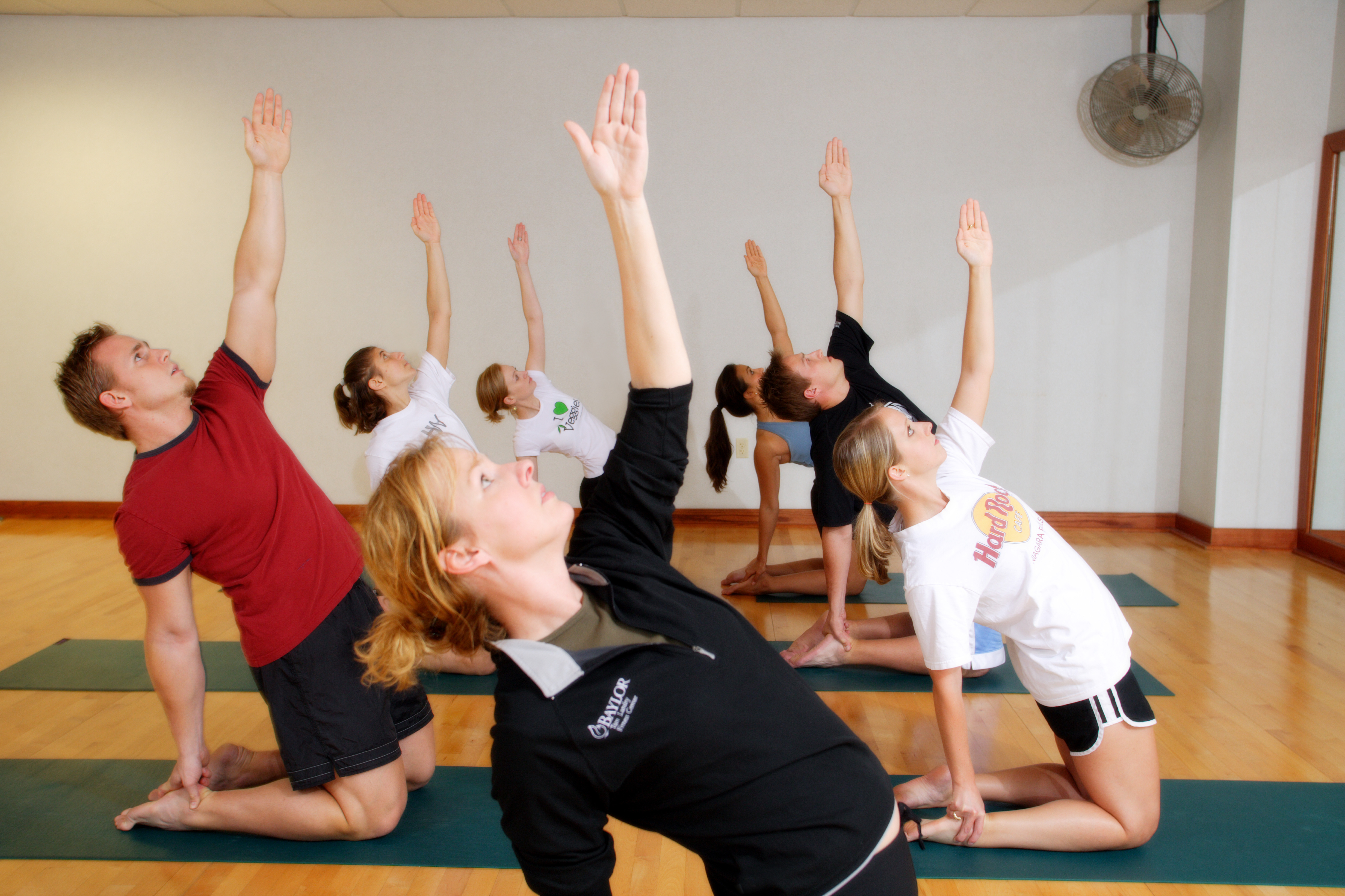 Yoga classes at BTLFC